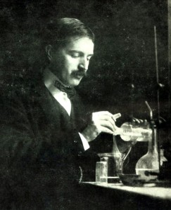 Picture is not related: the scientist is Richards Theodore William in his lab